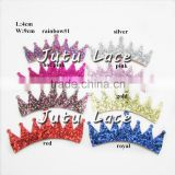 Wholesale Cute Color Rhinestone Tiara, glitter children hair decoration crown