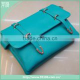 leather fashion women handbag double buckle lady shoulder bag                                                                         Quality Choice