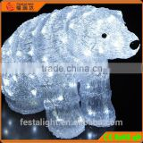 Acrylic led 3d motif animal/acrylic SEA POLAR BEAR lights, christmas light