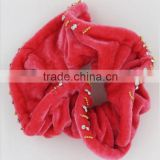 fashion velvet ponytail holders scrunchie wholesale hair accessory for sale