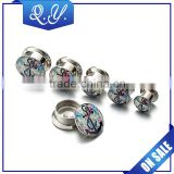 Wholesale Expanders Piercing Flesh Tunnel Fashion Ear Expander Gauge Piercing Body Jewelry Stainless Steel Screw Plug