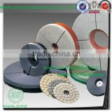 leather polishing disc for stone and concrete- polishing flap disc abrasive for stone polishing