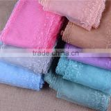 90yards 5.9'' Inches Polyester Embroidered Net Yarn Lace Trims for craft sewing many colors in stock.width 15cm.