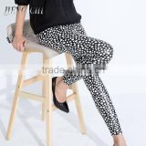 hot cheap black dot leggings pants