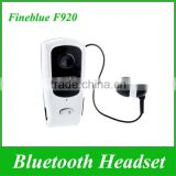 Wireless Fineblue F920 Retractable Stereo Bluetooth Headset For iPhone 6 Samsung HTC Colorful Headphone