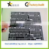 2014 Personality customized pvc laptop keyboard label sticker, laptop keyboard sticker printing,laptop keyboard sticker                                                                         Quality Choice