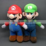 Beloved classic customer designed stuffed plush baby mario toy