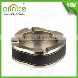 Gold /silver priting metal ashtray/cigarette ashtray/different kinds ashtray/hotel products