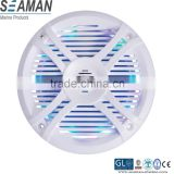 new design RGB led 5.25 inch component style 2-way stereo Waterproof Marine Speakers with remote controller for yacht,ATV,UTV