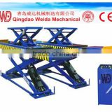 Heavy Duty Scissor Car Lift For Four-Wheel Alignment