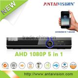 Hot selling high quality 1080N 3g wifi dvr h246 4 channel cctv ahd dvr system support home security improvement
