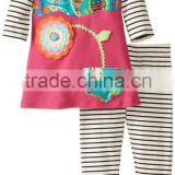 Wholesale America Style Kid Girl Summer Clothing Sets Of Made In China                                                                         Quality Choice
