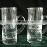 TA2010B-2' teflon milk jug tall thin beer pitcher and kettle