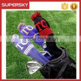 F550 Custom Personalized knitted Golf club head Cover