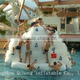 Guangzhou Qihong exciting inflatable water iceberg, rock climbing holds wall