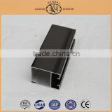 Aluminum Profile for Door and Windows, Bronze Finished Aluminum Profiles China Gold Supplier                                                                                                         Supplier's Choice