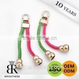 Colorful rope zipper puller with cord Brightness B1-80016