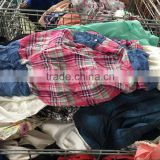 Bales of mixed used bulk used clothing for sale