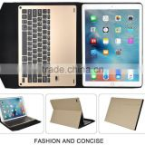 hot sale Keyboard Case for iPad Pro Ultra-thin aluminum Bluetooth Keyboard Portfolio Case for Apple ipad pro 12.9 inch tablet