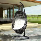 Outdoor Furniture Patio Swing hanging chair Wholesale Price Top Quality rattan swing chair