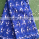 Wholesale swiss velvet lace fabric cotton guipure lace fabric in stcok                                                                                                         Supplier's Choice