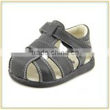 Hot sales COATED LEATERH baby shoes soft sole toddler sandals                                                                         Quality Choice