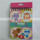 Peel stick colouring paper item