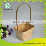 Handwoven bamboo wedding decoration mini basket
