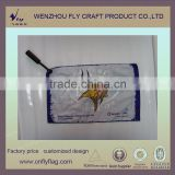 Plastic custom logo polyester hand wave flags