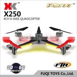 X250 Scalable 5.8G FPV flying camera helicopter wholesale quadcopter rc drone