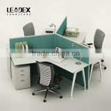 2016 New Design 120 Degree Design 3 Person Office Workstation