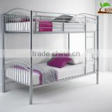 Fu'll KD Metal bunk bed with bending side rails
