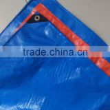 high quality plastic waterproof tarpaulin and PE eyelets tarpaulin 3x3m of UNICEF relief tent