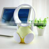 promotion gift notebook USB usha rechargeable fan