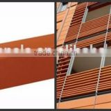 Fire rated louvers, Louver screen , ceramic sticks,Terracotta Sunscreen Louver Terracotta Baguette And Stick for Wall Decoration