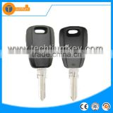ABS remote universal key shell with uncut blade chip groove without logo for fiat granda punto brave marea croma