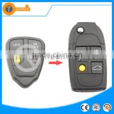 high quality 4 button universal remote car key shell with letter on back without logo for volvo xc90 s60 v70 s40