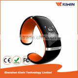 Bluetooth Smart OLED Touch Screen Bracelet Wristband Watch Cell Phone Mate Pedometer Playing Music Call Reminder