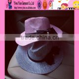 2016 factory latest design bowknot sun hats made in China hot sale original beach hats for women
