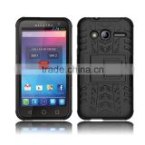 tyre liness pc tpu case for alcatel one touch pixi 4,square stand cover for alcatel pixi 4 4.0