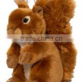 plush stuffed soft Baby Squirrel Brown logo custom imprinted bandana beanbag t-shirt bib tie ribbon animal toys