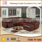 Antique Style new design lazy boy lounge Warmth leather Recliner sofa recliner with high quality