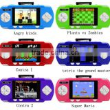 "Pocket boy Hand held 3"" video game console player re-chargeable universal portable games console"