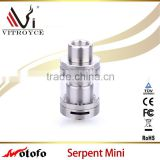 2016 new design Wotofo Serpent Mini RTA Atomizer Rebuildable Top Filling with fast shipping