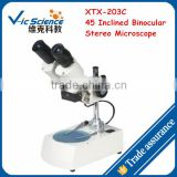 XTX-203C 45 Inclined Binocular Stereo Microscope