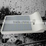 IP65 waterproof CE RoHS battery solar motion sensor led outdoor light