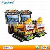 Funshare new full-motion speed racing car simulator race car arcade machine manufacturer