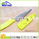 2016 best price colorful kitchen paring fruit knife stainless steel chef knife for camping