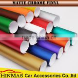 New Product Body Stickers Used Blue Matte Chrome 3m Car Vinyl Wrap Vinyl Wrap