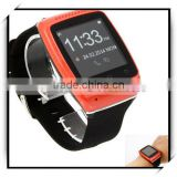 S12 New Stylish Anti-lost PC & Silicone Bluetooth Touch Screen Smart Watch Bracelet Red
